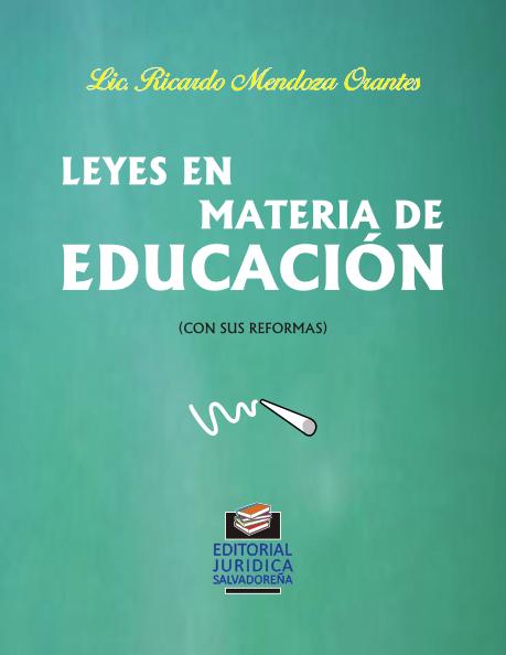 Leyes en materia de Educación
