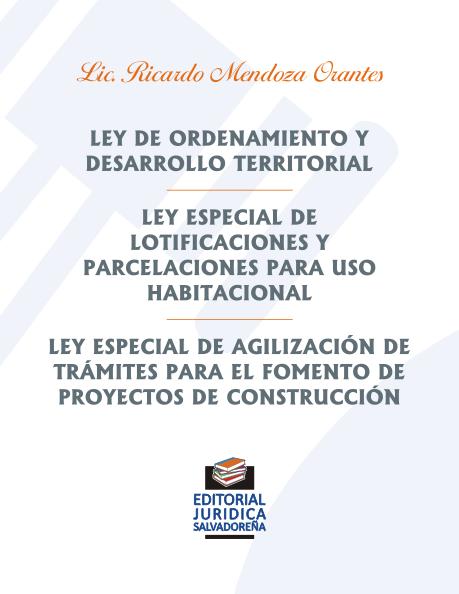 Ley de Ordenamiento y Desarrollo Territorial y otras
