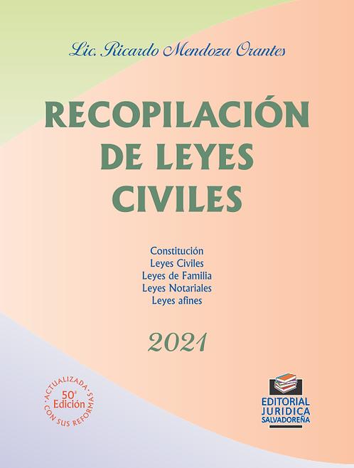 Recopilación de Leyes Civiles