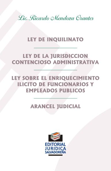 Ley de Inquilinato y otras