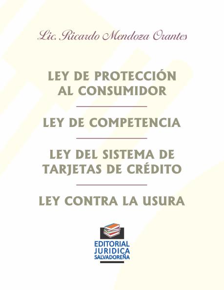 Ley de Protección al Consumidor y otras