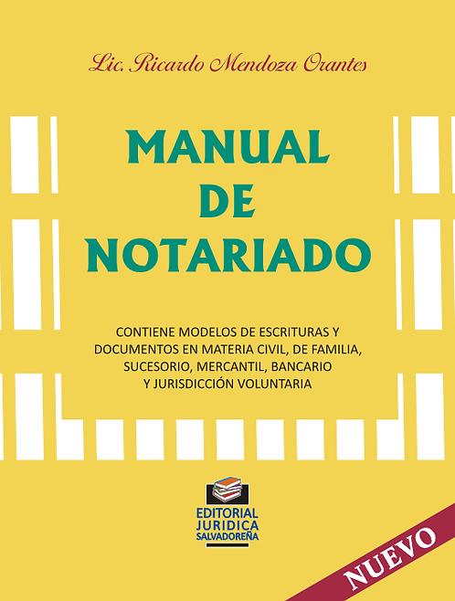 Manual de Notariado