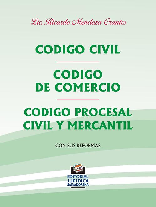 Código Civil, Código de Comercio y Código Procesal Civil y Mercantil