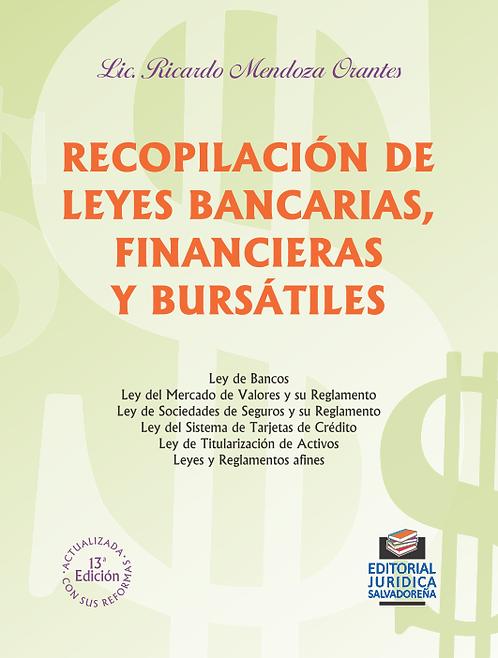 Recopilación de Leyes Bancarias, Financieras y Bursátiles