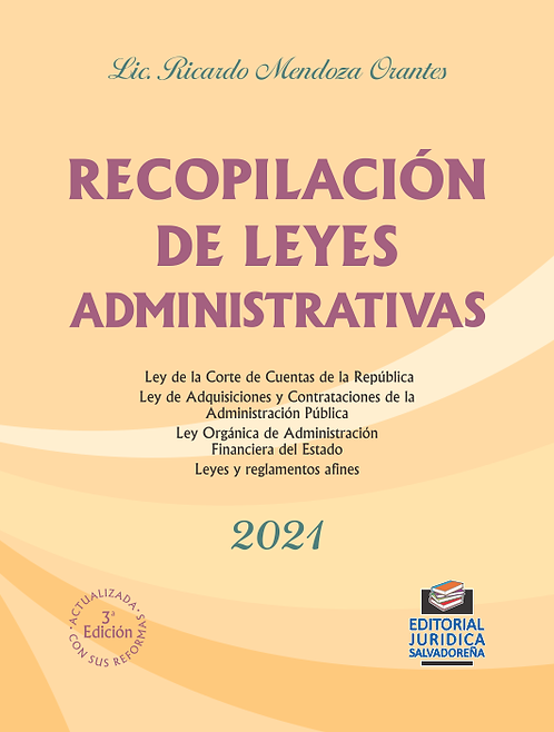 Recopilación de Leyes Administrativas