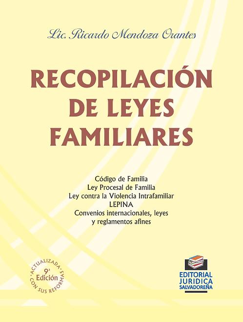 Recopilación de Leyes Familiares