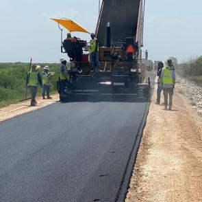 asphalt supplied to a century customer d