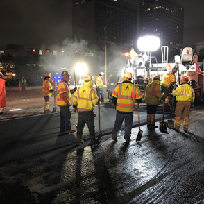Angel Brothers Paving Crew westheimer an