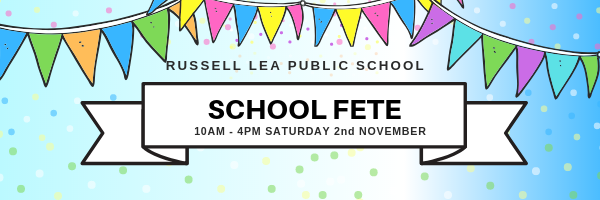 RUSSELL LEA PUBLIC SCHOOL - EMAIL BANNER