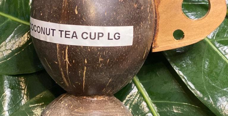 Coconut tea cup Large(reusable)