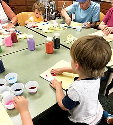 Kinder Village Intergenerational Crafts
