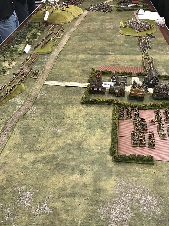 Prussia arrives!