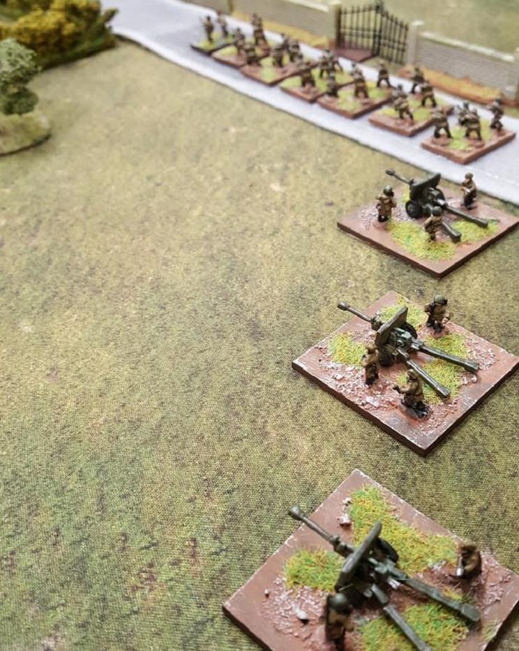 Artillery Deploys