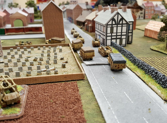 Germans Advance