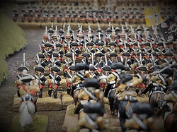 Prussian infantry advance