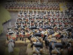 Prussian infantry advance