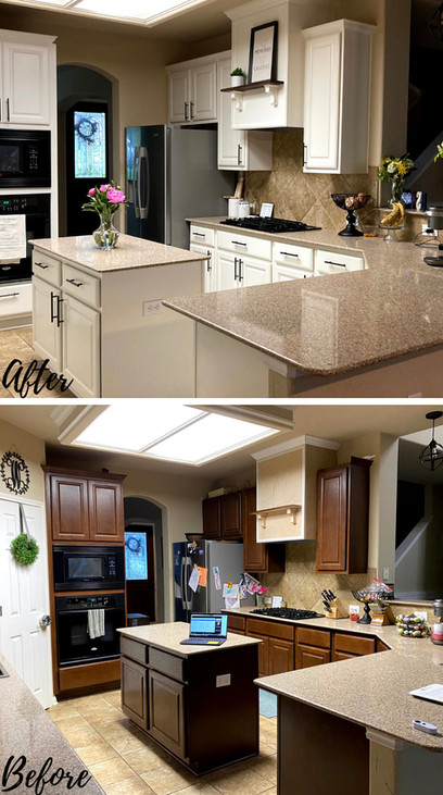 Kitchen - LP Before & After