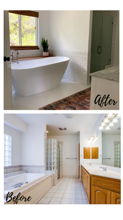 Master Bathroom - FC Before & After