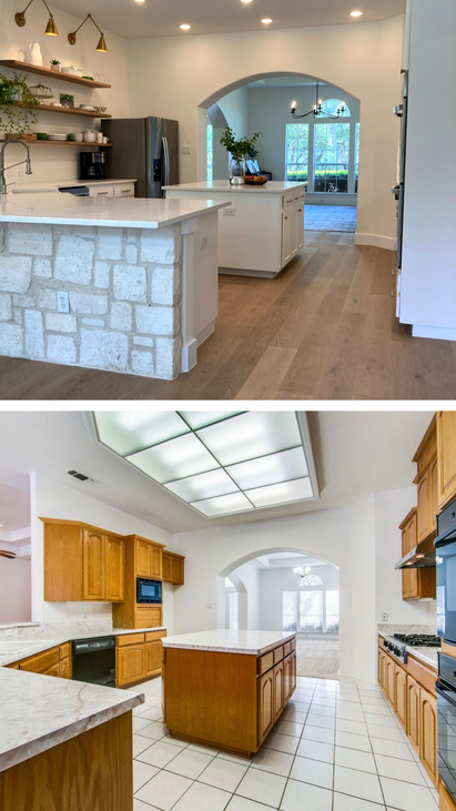 Kitchen - FC 1 Before & After