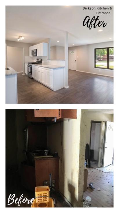 Kitchen & Entry - Dickson