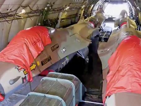 Fleet of Israeli F16's to Arrive in Mesa, Arizona