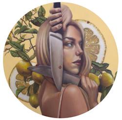 Lemonade - oil - 18 round_edited