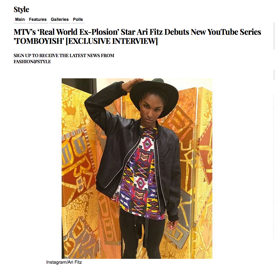 Style & Fashion / worn by Ari Fitz