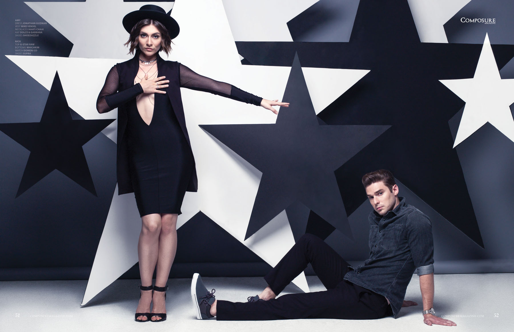 Karmin - Composure Magazine Aug '15