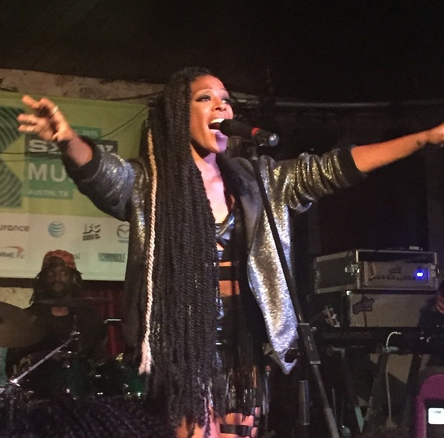 Dawn Richard at SXSW 2015
