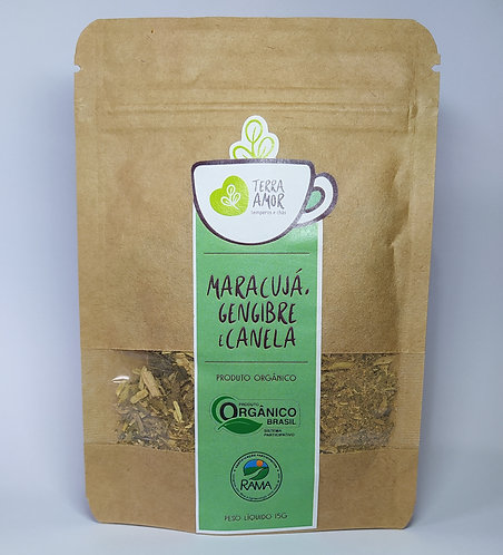 Chá de Maracujá, Gengibre e Canela