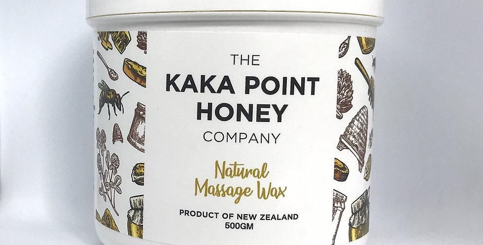 Natural Massage Wax 500gm
