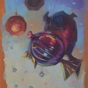 Hanging sea-life