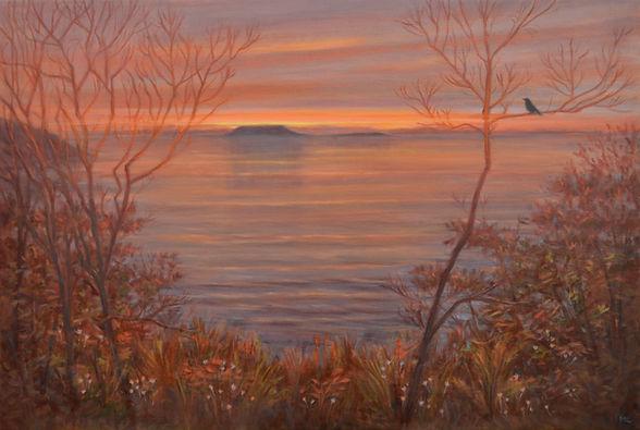 Awaken - Marin Loo - Oil painting Landscape
