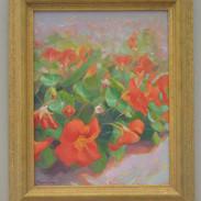 Red nasturtiums (Sold)