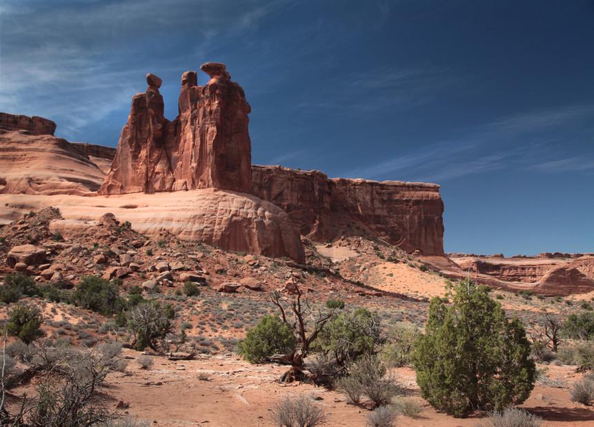 Sandstone Figures, Arches National Park, Utah