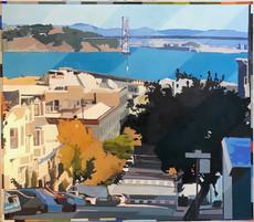 Bay Bridge and Treasure Island 90x102
