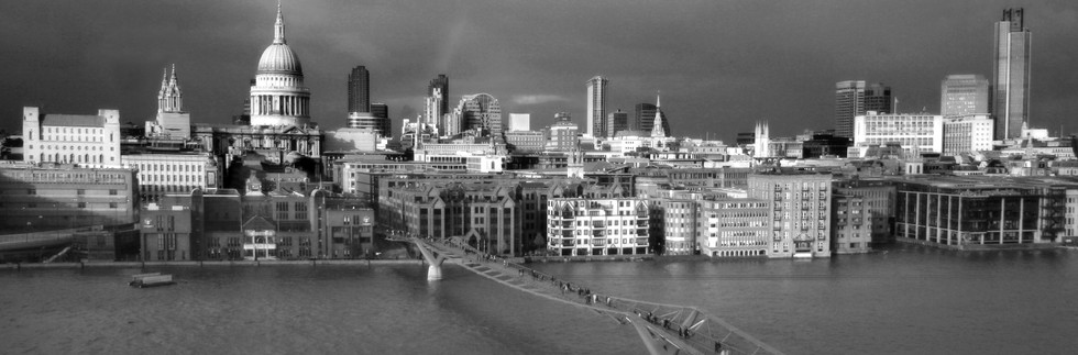 London Skyline from Tate Modern