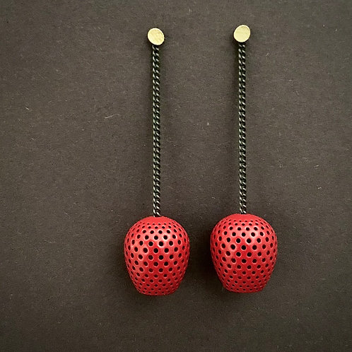 seaholly earrings (powder coated)