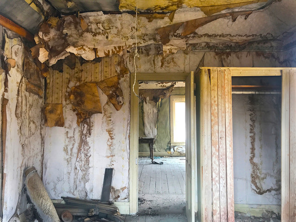Interior Ghost Town Series no. 3, Bodie, California