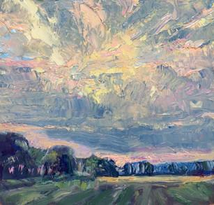 Downland Sunset