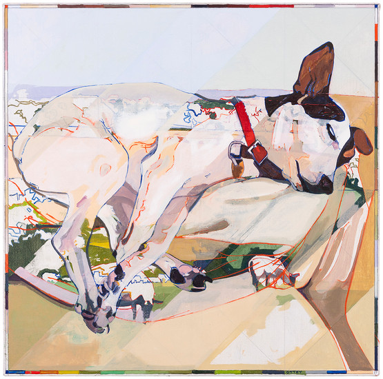 Audrey Dreaming 90x90