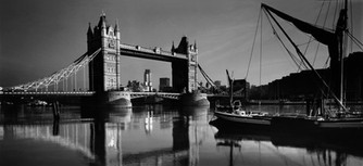 Tower Bridge with Sailing Barge London