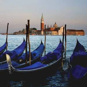 Venice Gondolas (square format)