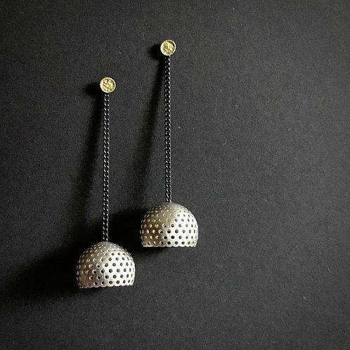 passiflora earrings