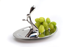 Serving tray Pewter