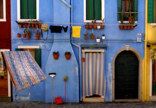 Washing, Burano Island, Venice