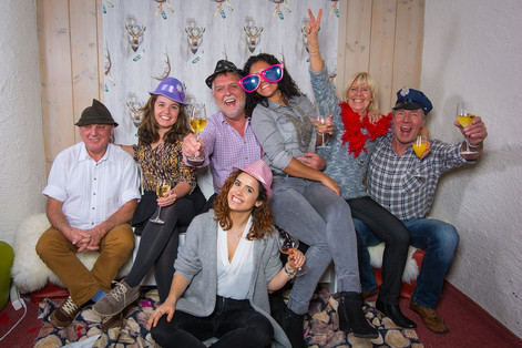 Fotobox mieten Aufnahmen bei Familienfeiern