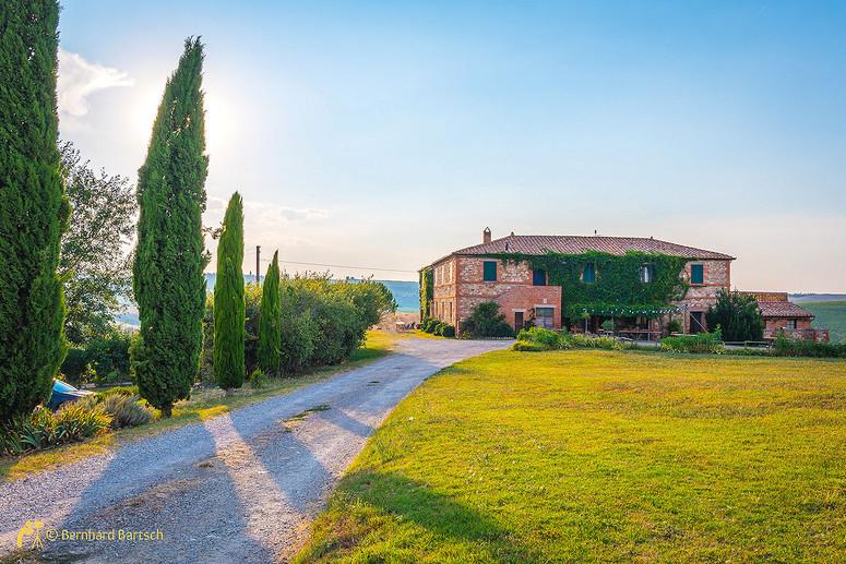 Architekturfoto-Toskana SanQuirico Haus Il Rigo
