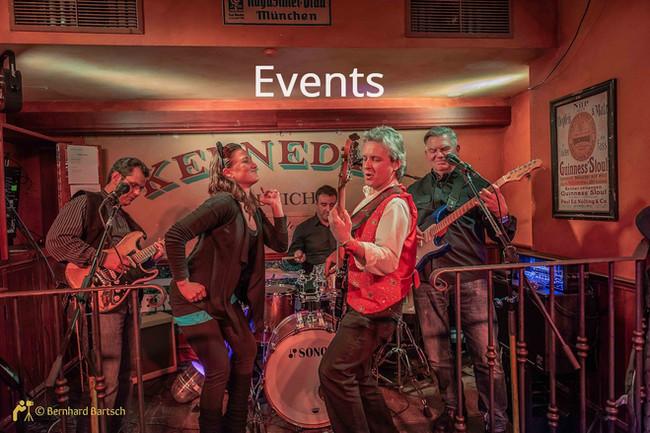 Eventfotos -  Band im Pub - Low Light