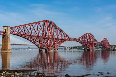 Architekturfoto-Scotland South Queenferry - Forth Bridge Weltkulturerbe